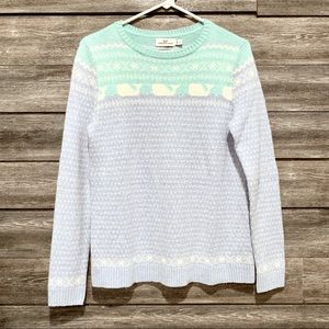 Vineyard Vines Logo Cashmere Sweater